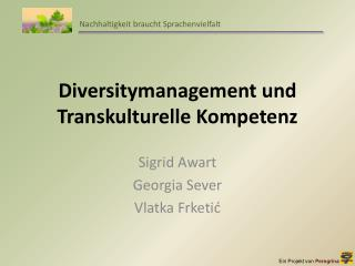 Diversitymanagement  und Transkulturelle Kompetenz