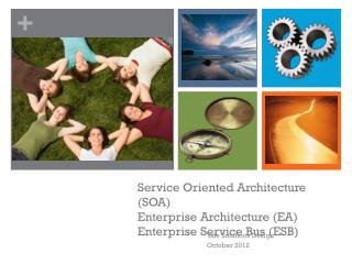 Service Oriented Architecture (SOA) Enterprise Architecture (EA) Enterprise Service Bus (ESB)