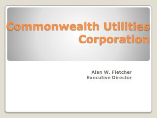 Commonwealth Utilities Corporation