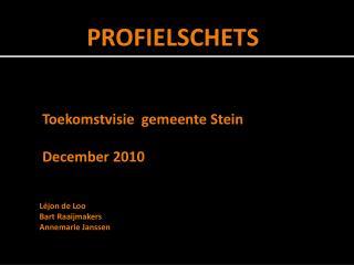 Toekomstvisie gemeente  Stein December 2010