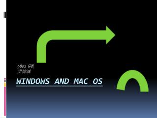Windows and Mac OS
