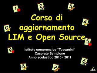 Corso di aggiornamento LIM e Open Source