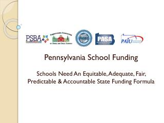 Pennsylvania School Funding