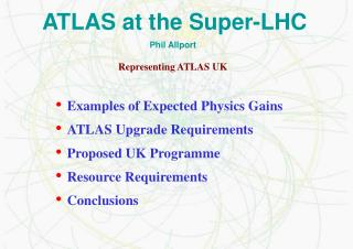 ATLAS at the Super-LHC