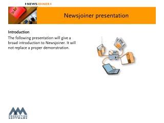 Newsjoiner presentation