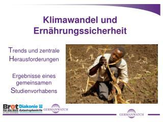 Klimawandel und Ernährungssicherheit