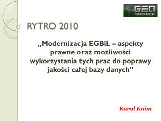 RYTRO 2010