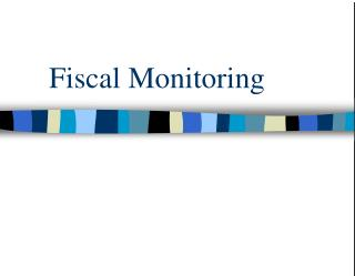 Fiscal Monitoring