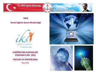MEB  Temel Eğitim Genel Müdürlüğü
