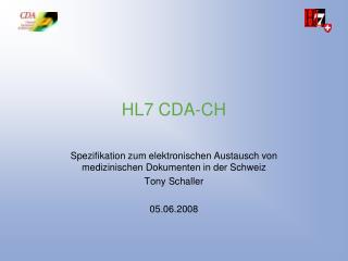 HL7 CDA-CH