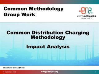 Common Methodology Group Work