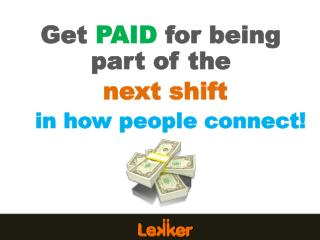 Get PAID for being part of  the