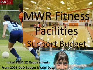 MWR Fitness Facilities Support Budget