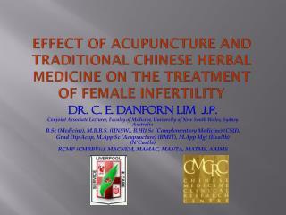Dr. C. E. Danforn LIM   J.P.