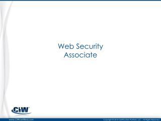 Web Security Associate