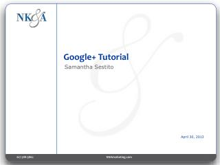 Google+ Tutorial