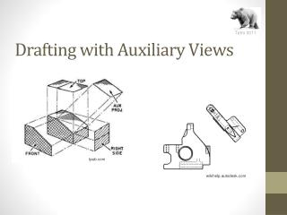 Drafting with Auxiliary Views