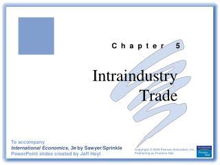 Intraindustry Trade