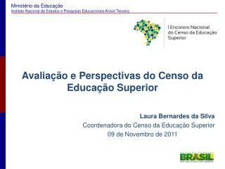 Avaliação e Perspectivas do Censo da Educação Superior