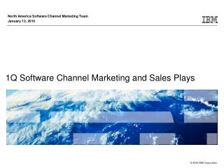 1Q Software Channel Marketing and Sales Plays