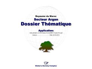 Dossier Thématique
