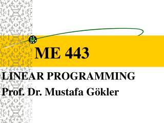 ME 443