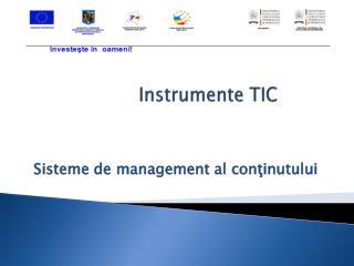 Instrumente TIC