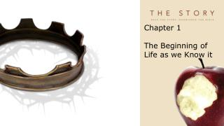 Chapter 1 The Beginning of Life as we Know it