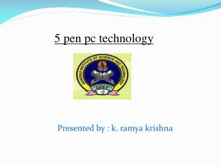 5 pen pc technology
