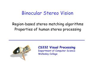 Binocular Stereo Vision