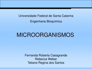 MICROORGANISMOS