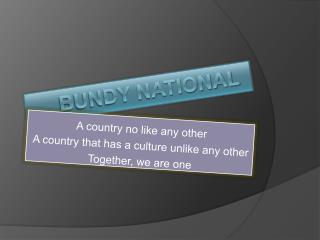 Bundy National