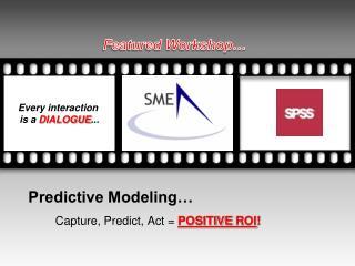 Predictive Modeling…
