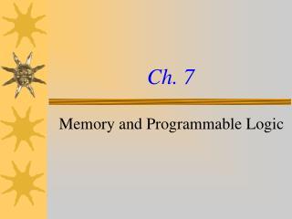 Ch. 7