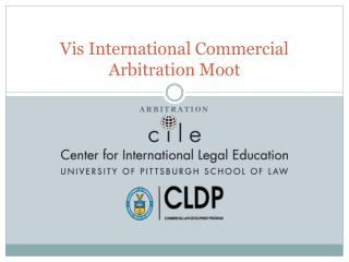 Vis International Commercial Arbitration Moot