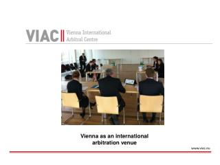 Vienna  as  an international  arbitration venue