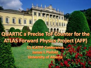 QUARTIC a Precise  ToF  Counter for the ATLAS Forward Physics Project (AFP)