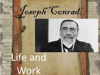 Joseph  C onrad