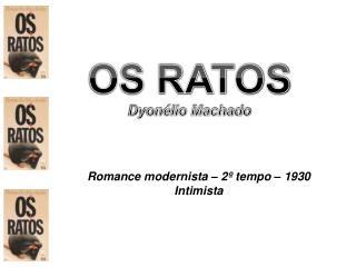 OS RATOS Dyonélio Machado