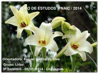 GRUPO DE ESTUDOS  PNAIC / 2014