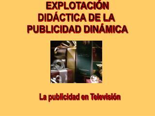 La publicidad en Televisi�n