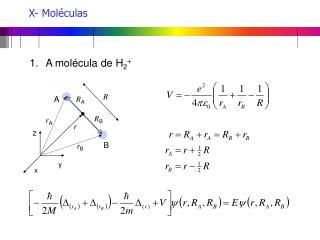 X- Moléculas