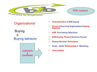 Organizational Buying             & Buying behavior