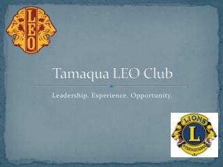 Tamaqua LEO Club