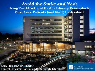 Avoid the  Smile and Nod: