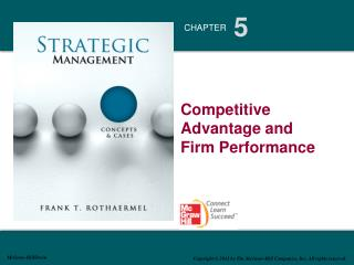 Competitive Advantage and              Firm Performance