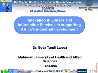 Innovation in Library and Information Services in supporting Africa s industrial development