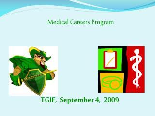 TGIF,  September 4,  2009