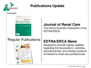 Publications Update