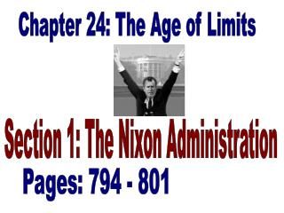 Chapter 24: The Age of Limits